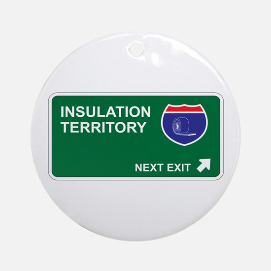 Insulation Territory Ornament (Round)