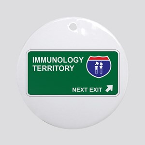 Immunology Territory Ornament (Round)