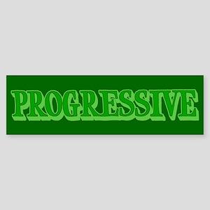 Progressive Bumper Sticker