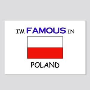 I'd Famous In POLAND Postcards (Package of 8)