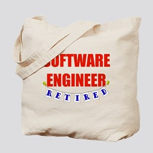 Retired Software Engineer Tote Bag