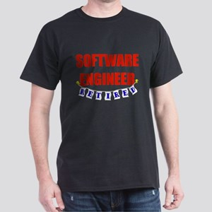 Retired Software Engineer Dark T-Shirt