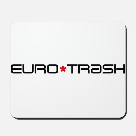 Eurotrash Logo Mousepad