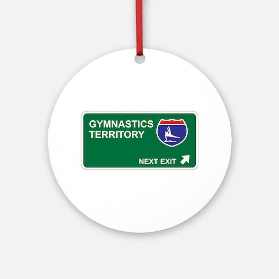 Gymnastics Territory Ornament (Round)