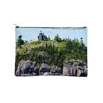 Huron Island Lighthouse Wide Angle Makeup Bag