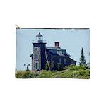 Huron Island Lighthouse Makeup Bag