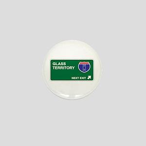 Glass Territory Mini Button