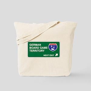 German, Board Game Territory Tote Bag