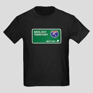 Geology Territory Kids Dark T-Shirt