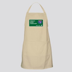 French, Horn Territory BBQ Apron