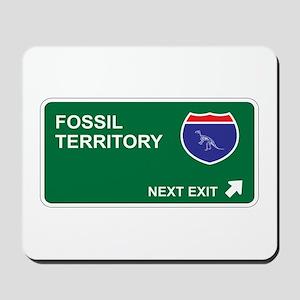 Fossil Territory Mousepad
