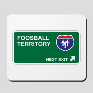 Foosball Territory Mousepad