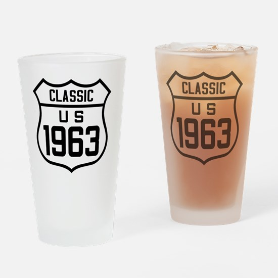 Funny 1963 Drinking Glass