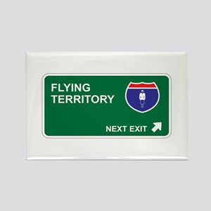 Flying Territory Rectangle Magnet