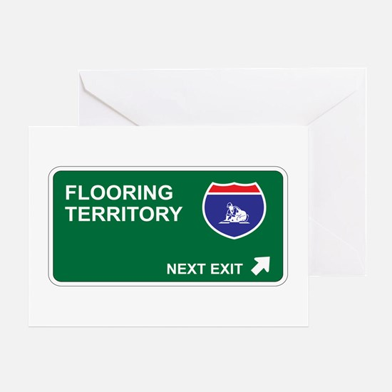 Flooring Territory Greeting Card