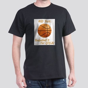 Girls Basketball White T-Shirt