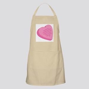 Candy Heart BBQ Apron