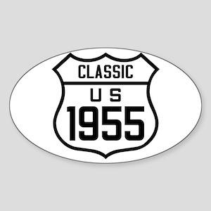 Classic US 1955 Sticker