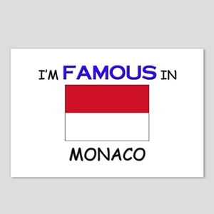 I'd Famous In MONACO Postcards (Package of 8)