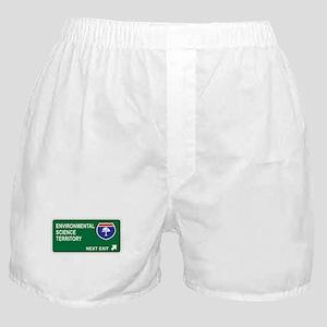 Environmental, Science Territory Boxer Shorts
