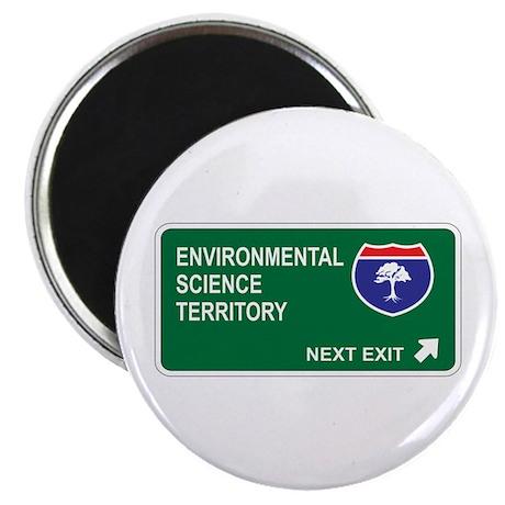 "Environmental, Science Territory 2.25"" Magnet (10"