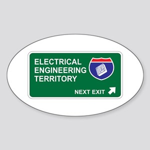 Electrical, Engineering Territory Oval Sticker
