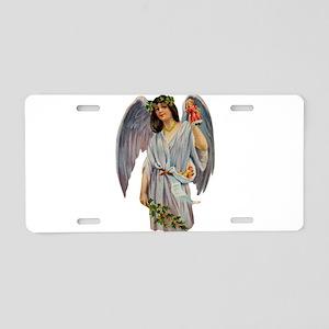 Angel illustration 9 Aluminum License Plate