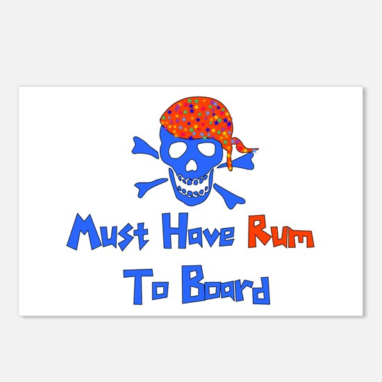 Must Have Rum Postcards (Package of 8)