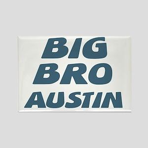 Big Bro Austin Rectangle Magnet
