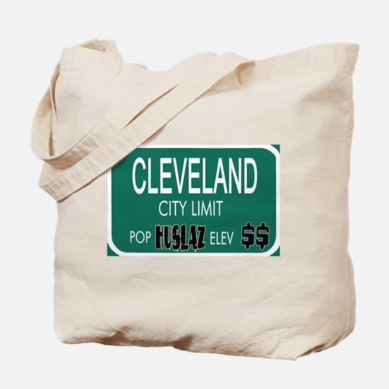 CLEVELAND -- T-shirts Tote Bag