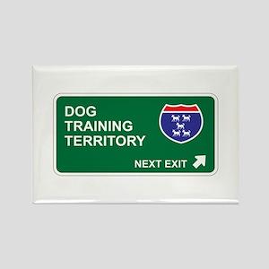 Dog, Training Territory Rectangle Magnet