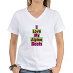 Alpine Women's V-Neck T-Shirt