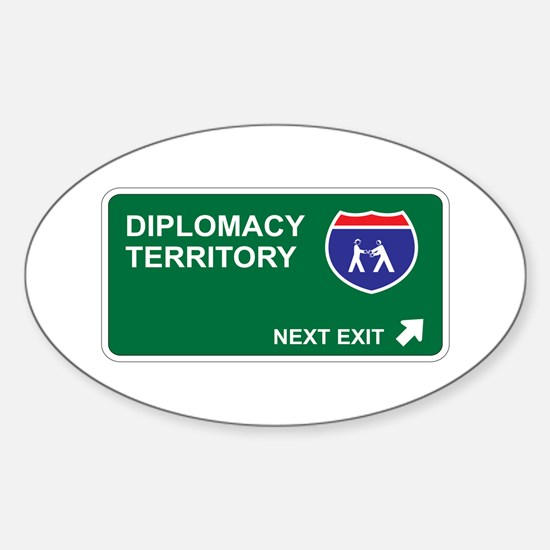 Diplomacy Territory Oval Decal