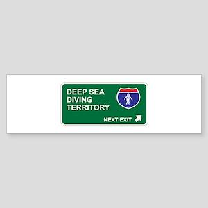 Deep Sea, Diving Territory Bumper Sticker