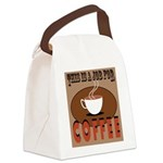 This Is A Job For Coffee Canvas Lunch Bag