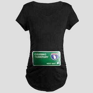 Cruising Territory Maternity Dark T-Shirt