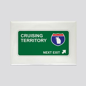 Cruising Territory Rectangle Magnet