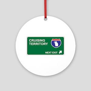 Cruising Territory Ornament (Round)