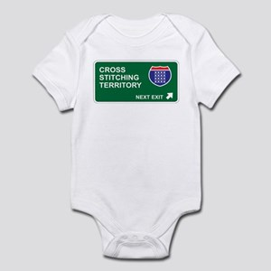 Cross, Stitching Territory Infant Bodysuit