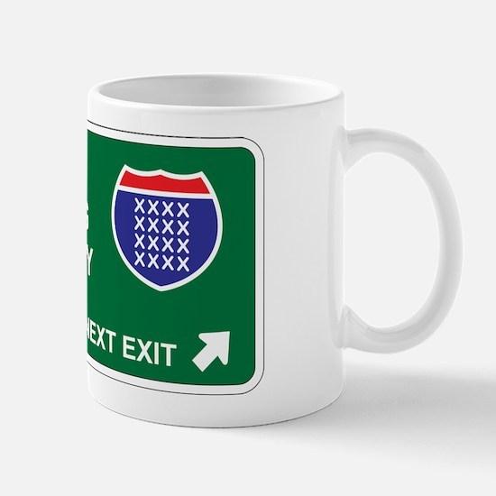 Cross, Stitching Territory Mug