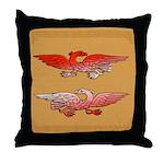 Beli (Eagle) - Celtic Art Throw Pillow