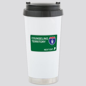 Counseling Territory Stainless Steel Travel Mug