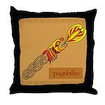 Payshtha (Dragon) - Celtic Art Throw Pillow