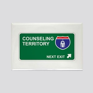 Counseling Territory Rectangle Magnet