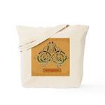 Eas-Ganu (Eel) - Celtic Art Tote Bag