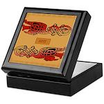 Corr (Crane) - Celtic Art Keepsake Box