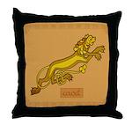 Caoit (Cat) - Celtic Art Throw Pillow