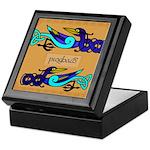 Pioghaid (Magpie) - Celtic Art Keepsake Box