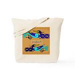 Pioghaid (Magpie) - Celtic Art Tote Bag