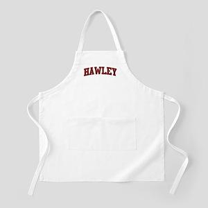 HAWLEY Design BBQ Apron